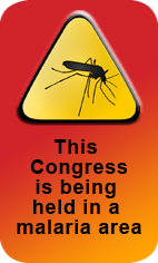 This  CONGRESS is in a Malaria Area
